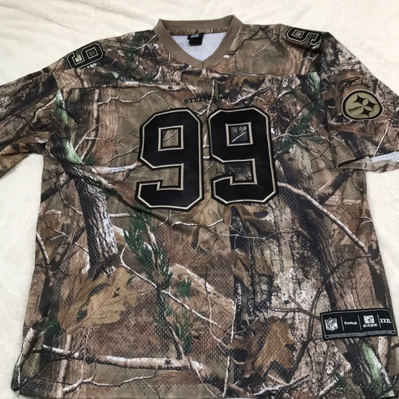 size 40 24f59 1bee2 Camo Steelers Jersey